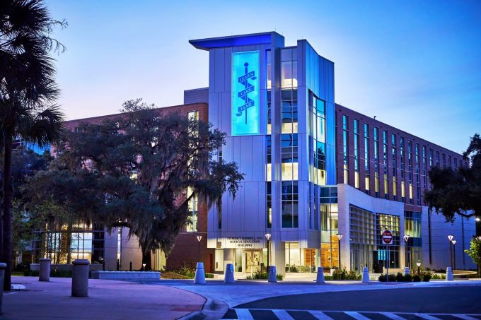 Harrell Medical Education Building and home of the Free Center