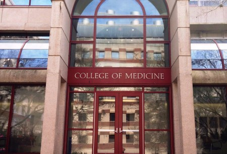 College of Med. Enterance