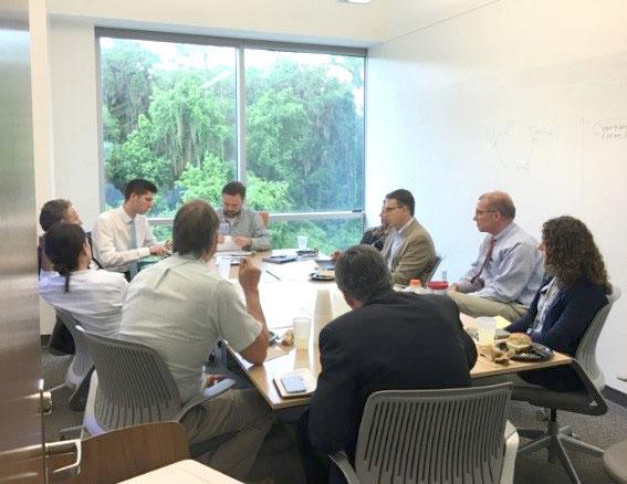 External Advisory Board Meeting in Progress
